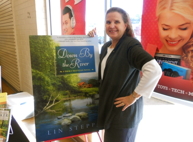 Lin at Down by the River signing