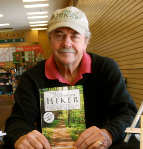 JL at Afternoon Hiker signing