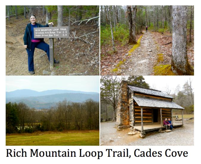 Rich Mtn Loop Trail Scenes